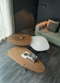 Steel and wood coffee table SAMBA By Cattelan Italia design Paolo Cattelan Coffee And End Tables, Walnut Coffee Table, Coffe Table, Coffee Table Design, Modern Coffee Tables, Side Tables, Contemporary Furniture, Luxury Furniture, Furniture Design