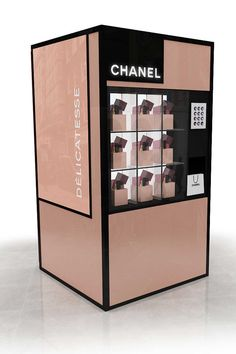 Chanel pop-up vending machine for FNO