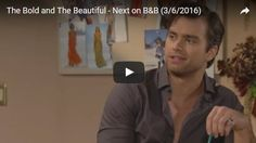 "Hey, ""The Bold & The Beautiful"" fans! Want to see what to expect on ""B&B"" Monday, March 6, 2017? Check out the official ""The Bold & The Beautiful"" preview video below! ""B&B"" airs on CBS daily Monday – Friday on CBS! Share your thoughts in the Comments section below, on our Facebook"