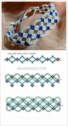 Free pattern bracelet santorini | beads magic