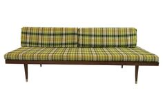 1960s Mid-Century Modern Daybed Sofa $869 (guest house?)