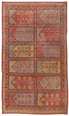 Khotan carpet, East Turkestan