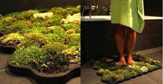 DIY Moss Bath Mat