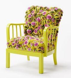 designer sessel MYK pompon chair2.2