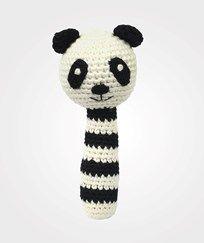 natureZOO Rattle Stick - Sir Panda Musta