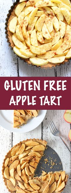 Gluten Free Apple Tart - so easy you can't mess it up!