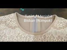 """(Tutorial) Tips praktis dan cepat menjahit """"Bisban (Rompok)"""" Sewing Hacks, Sewing Tutorials, Sewing Projects, Pola Lengan, Sewing Blouses, Bias Tape, Pants Pattern, Fashion Sewing, Learn To Sew"""