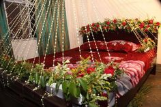 Different types for decorated beds for low cost.
