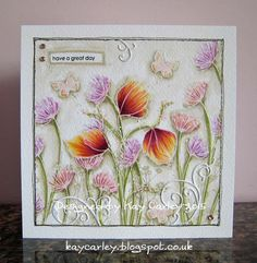 Created using Penny Black stamps - coloured with Copics