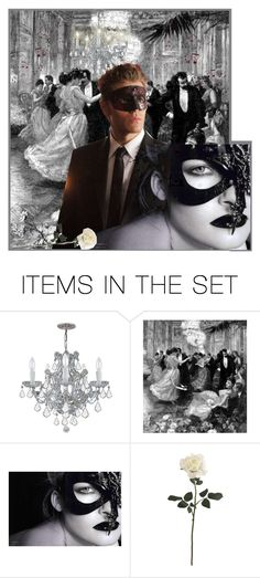 """""""Behind the Mask"""" by krusie ❤ liked on Polyvore featuring art"""