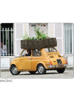 BACSAC is een innovatieve variant op de bloempot, plantenbak en moestuin. BACSAC  is in Parijs de nieuwe trend voor in de tuin, op het balkon of op het terras.