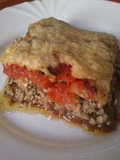 H μάνα του ... λόχου: Σαβούρα κοζανίτικη - Μελιτζάνες και πιπεριές με κιμά