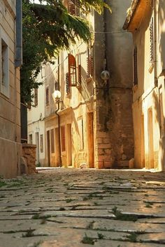 Old Town of Poreč , Istria, Croatia