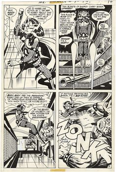 Gallery of Comic Art by Jack Kirby : Mister Miracle, Issue 4, Page 13 : What if Kirby