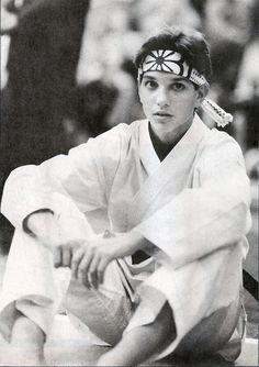 Tumblr - Who didn't love Ralph Macchio - The original Karate Kid.