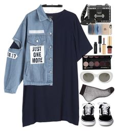 """."" by larissaglz ❤ liked on Polyvore featuring Monki, Miss Selfridge, Acne Studios, Diane Kordas, Bobbi Brown Cosmetics, Yves Saint Laurent, Prada and Casetify"