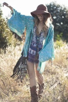 Gypsy Love Long Sleeved Top - Spell Designs $140 boho, gypsy, hippy