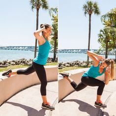 Outdoor Workout Routine: Power Burpees - Outdoor Workout: Tone Every Inch On a Park Bench - Shape Magazine - Page 7