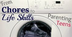 From Chores To Life Skills – Parenting Teens.  Must read later, may come in handy sooner than I expect!