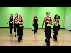 (HOT Z Team) Hold Me, Cha-Cha Dance Fitness, TobyMac a little slower but the girls enjoy this song