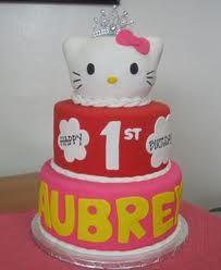 birthday cake hello kitty