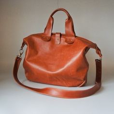 ribandhull slouchy brown leather bag.