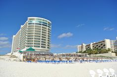 Great Parnassus Resort and Spa (Cancun, Mexico) - Resort (All-Inclusive) hotel from beach - ocean suites