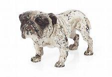 Austrian Cold Painted 19th Century Bronze Bulldog 100% Genuine