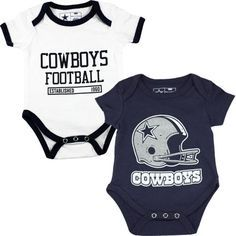 Dallas Cowboys Baby Clothes Mesmerizing Nfl Dallas Cowboys Cuteness Bodysuit Set At Shopdallascowboys Design Ideas