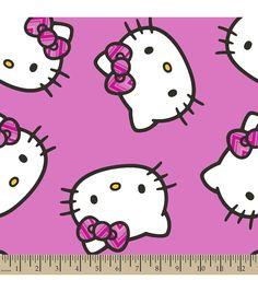 Shop Hello Kitty Fleece Fabric on Joann.com