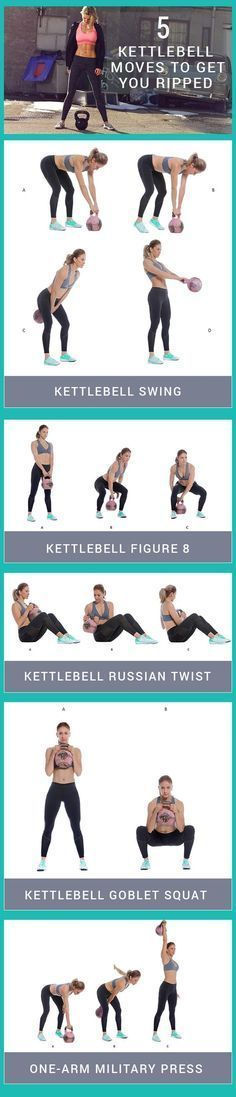 5 kettlebell moves to get your fit