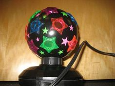 RECALL: Style My Room Disco Lights recalled due to electrical shock hazard. About 19,100 lights are voluntarily recalled & were sold exclusively at Justice from May 2012 thru November 2012. Free refunds are available by returning the lamp to any Justice store
