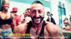 GIANLUCA DEGORTES training at PANATTA stand in RIMINI WELLNESS 2017 HD 1...