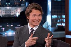 Watch Ansel Elgort Tell the Most Hilarious (and Embarrassing) Story on His First-Ever TV Appearance