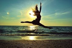 I want to take dance pictures at the beach over the summer :)