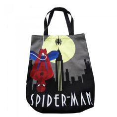 Marvel 12010513 Art Deco Spiderman Tote