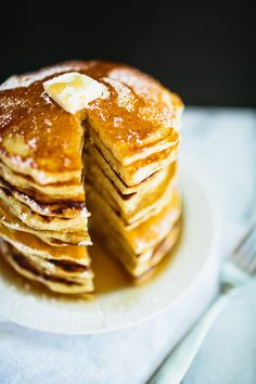 how to make the fluffiest pancakes