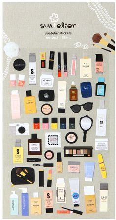 Like it Cosmetics Diary Deco Sticker by DubuDumo on Etsy, $3.50