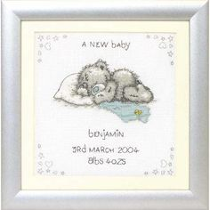 A New Baby Cross Stitch Kit I Love Cross Stitch