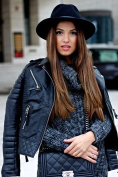 Print and Color in December | Negin Mirsalehi. Fall Winter OutfitsFall ...