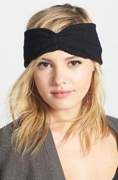 Super cute head wrap for winter.
