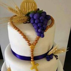 pastel para primera comunión38