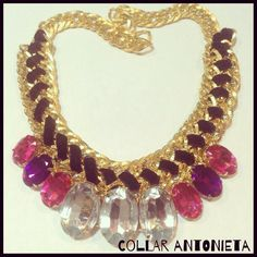 #necklace #collar #morningglory