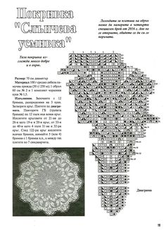 Lace Knitting, Knitting Patterns, Bobbin Lace, Doilies, Lace Tablecloths, Cross Stitch, Farmhouse Rugs, Frases, Circular Weaving