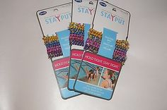 Goody Girl StayPut Ponytailers  3pack/8ct   Assorted colors 17051