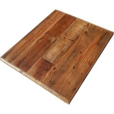 Reclaimed Wood straight plank tabletops available in many sizes from Restaurant and Cafe Supplies online. Quality restaurant furniture at fair prices.