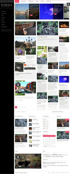 Kamala Multipurpose Magazine WP Theme Magazine, Blog, Image, Magazines, Blogging