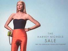 Check out these controversial Harvey Nichols pee ads that have infuriated their fans. Do you think these Harvey Nichols pee ads are funny or crass? Harvey Nichols, Cannes, Archive Magazine, Magazin Covers, Good Advertisements, Advertising Campaign, Sale Campaign, Advertising Flyers, Models