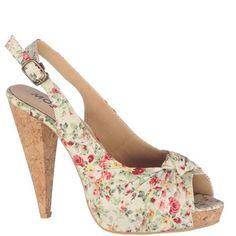 Sandale cu platforma si toc,pentru femei marca Mojito Fete: textil Interior: piele naturala + textil Talpa: sintetic Platforma fata: 2,5 cm Toc: 12 cm Mojito, Wedges, Interior, Shoes, Fashion, Moda, Zapatos, Indoor, Shoes Outlet
