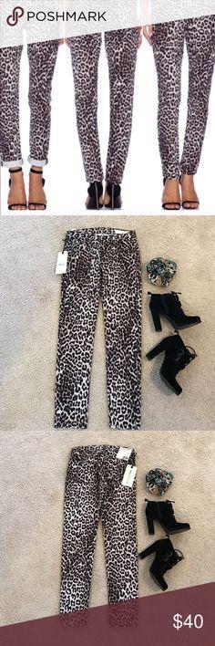 NWT Rag & Bone Snow Leopard Jeans Pants NWT Rag & Bone Snow Leopard Jeans Pants.  Excellent condition. New. Size 25. One pair left rag & bone Jeans